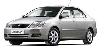 Запчасти Toyota Corolla IX E12J,E12T Седан