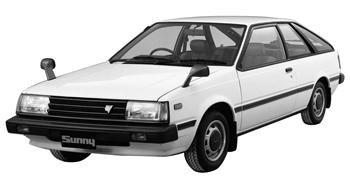 кузовные детали на nissan sunny 1990 г.